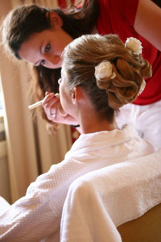 Beispiel: Rundum-Programm für die Braut, Foto: Bellas Hochzeitsservice.