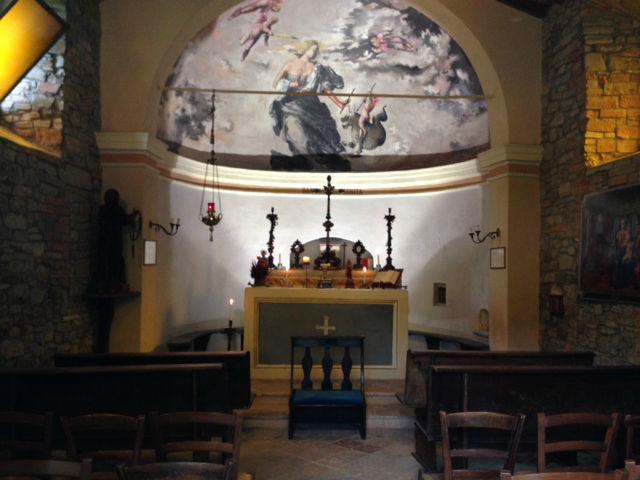 Mulino Santa Margherita - Interno Chiesa