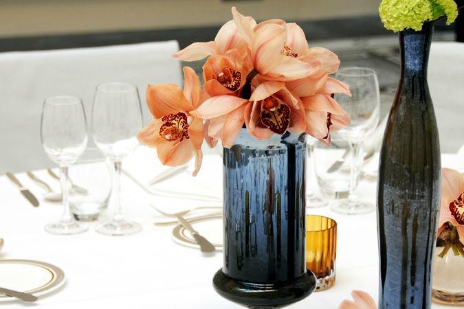 Beispiel: Hochzeitsfloristik vom Profi, Foto: Marsano Blumen.