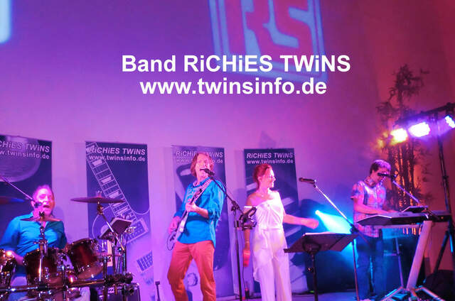 Band Richies Twins Hochzeitsband, Liveband, Party 2-5 Musiker