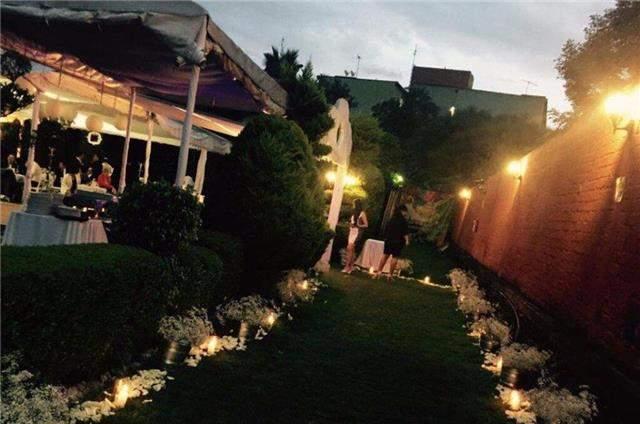 Lugares para bodas en coyoac n - Jardines decorados para fiestas ...