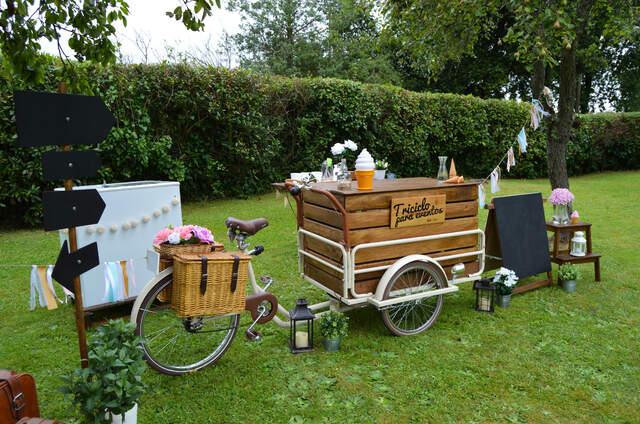Triciclo para eventos