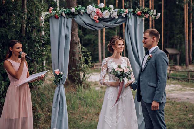Анита Ждановская-  свадебный регистратор,выездной регистратор в