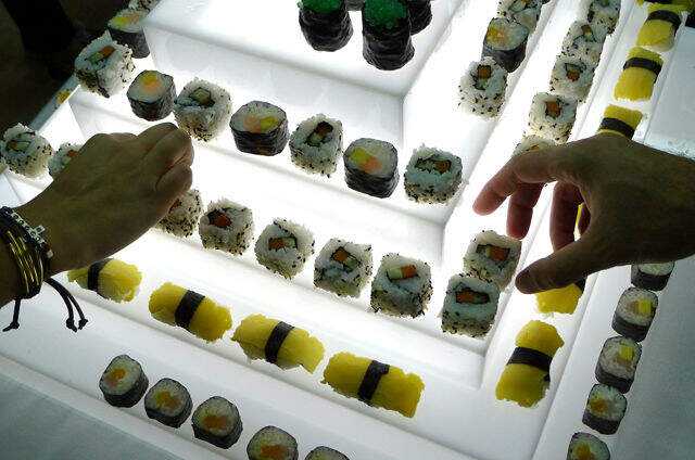 Mi boda con sushi