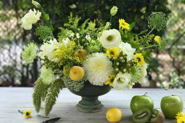 Rocío Vidaña, Diseñadora Floral