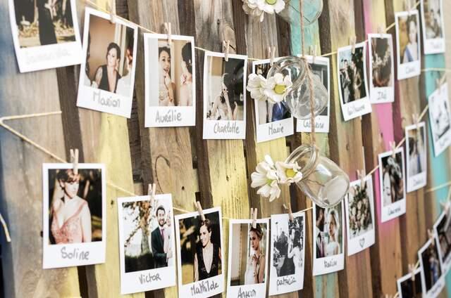 Caja de decoración de bodas
