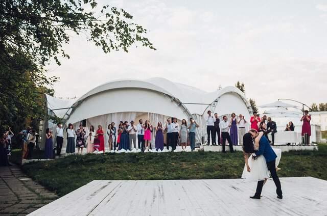 Свадебный шатер Лесная Дача